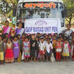 Excursion of Sponsor children at Raigad
